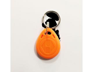RFID Key Fobs 125KHz, TK4100, EM4100, (10 Pack) - Orange